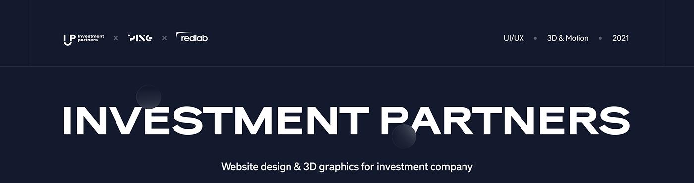 3D after effects animation  cinema 4d Figma motion graphics  ui ux Web Design  Website finance