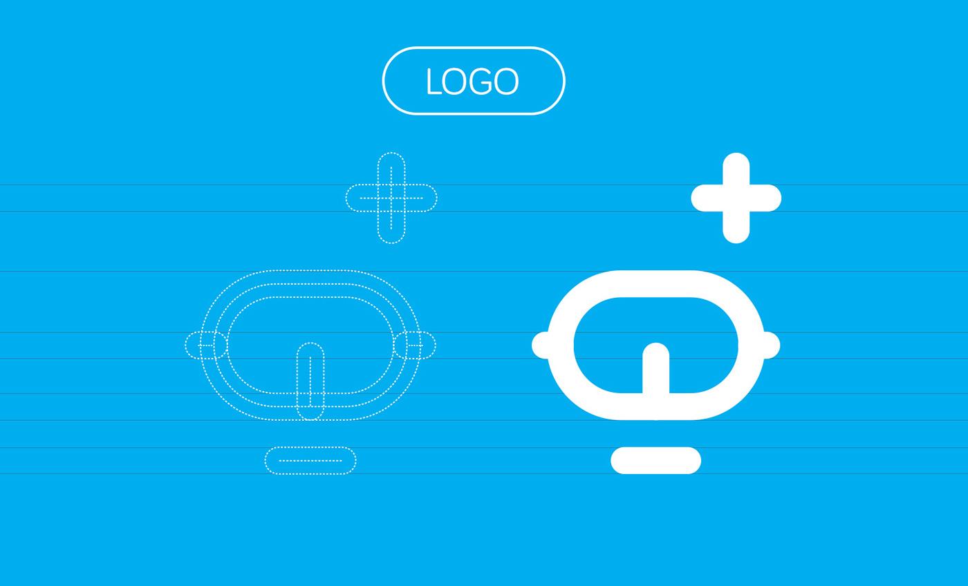 kids kids education brand brand hero CI characters Corporate Identity blue iconography kids characters Education logo Icon robot LEGO
