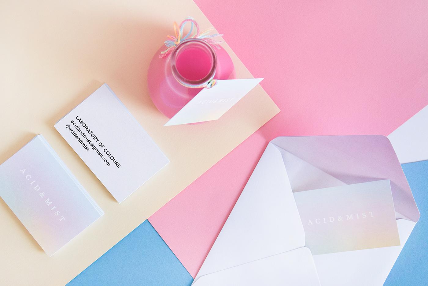 colour brand new colorful inspiration design pastel colors Mockup logo