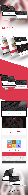 Blog bootstrap business corporate creative elegant landing-page minimal modern Multipurpose one-page portfolio psd Responsive start-up