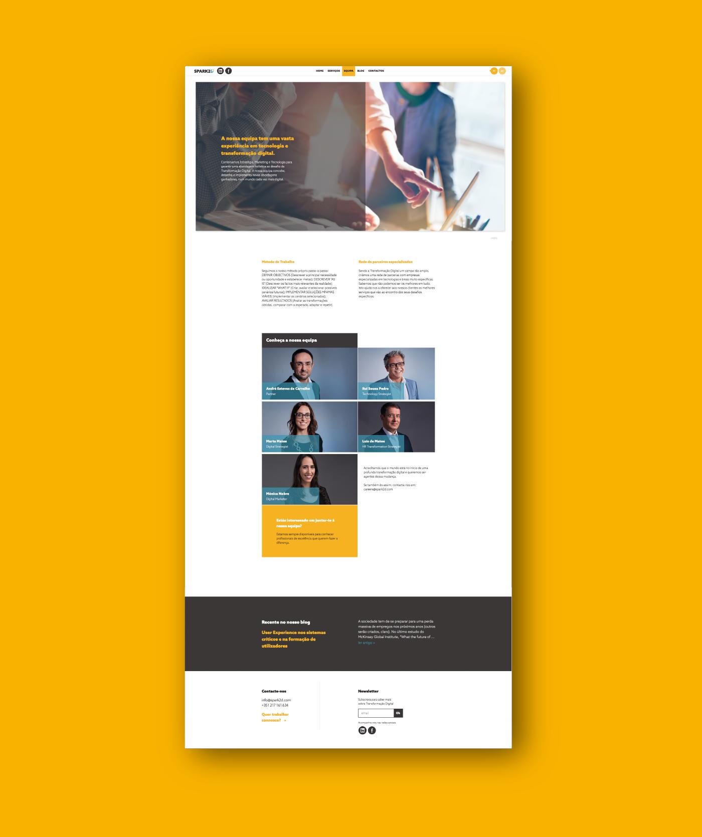 Website site Webdesign