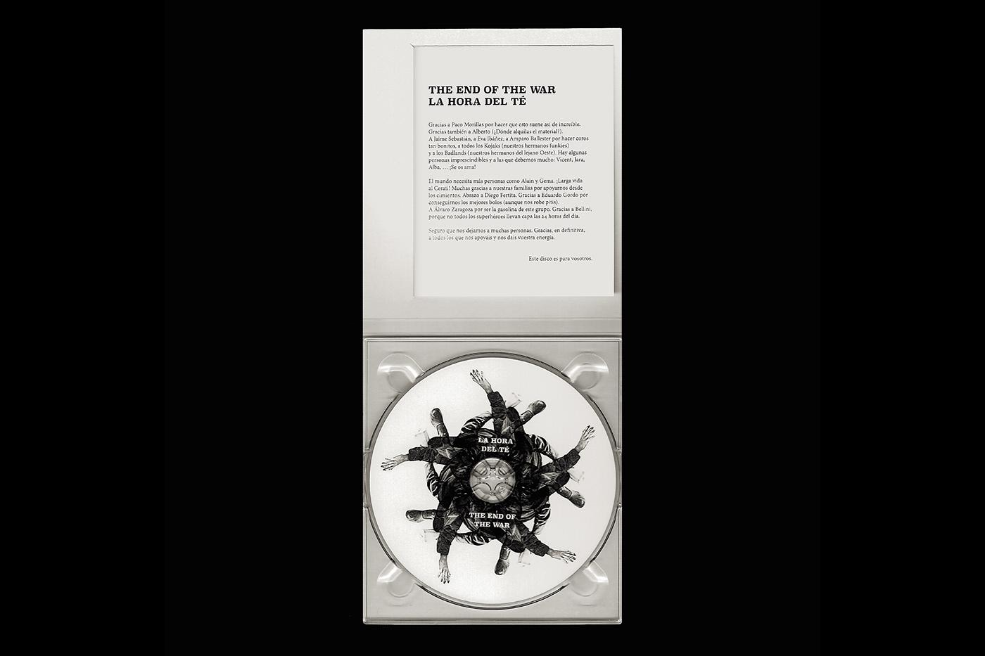 Album cd Packaging Jaime sebastián music format