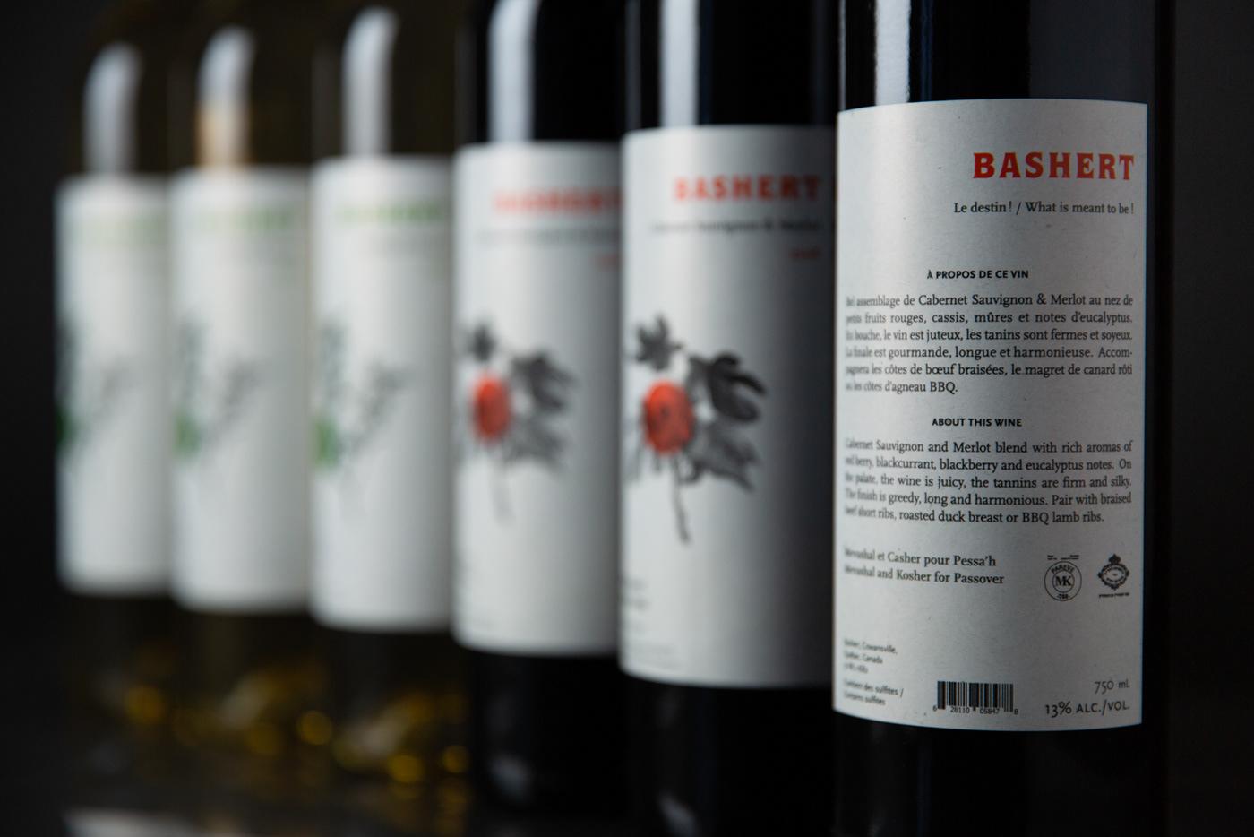 casher,Flowers,israel,kosher,Label,Packaging,wine,winery,Wines,Montreal