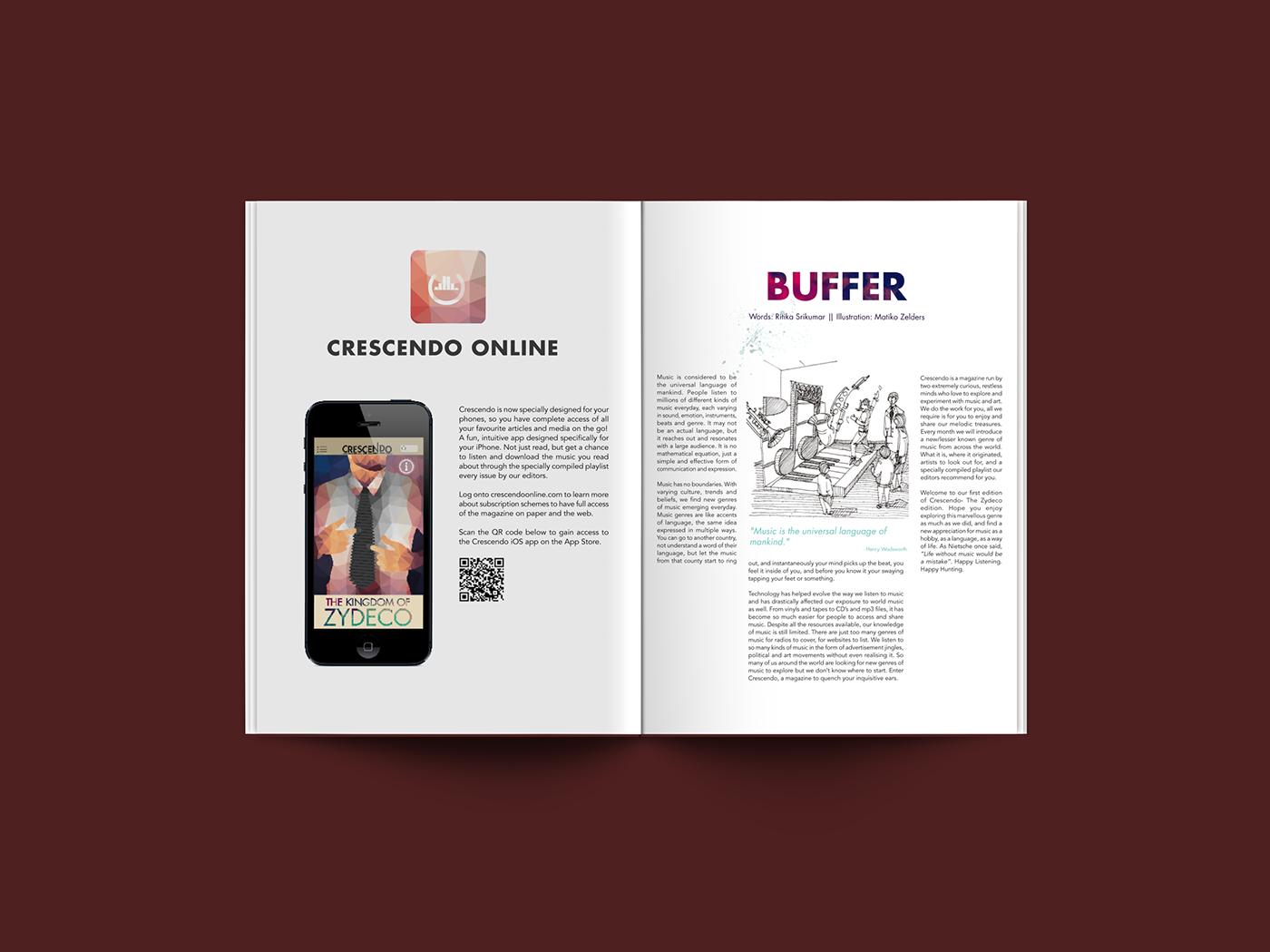 Crescendo Magazine on Behance
