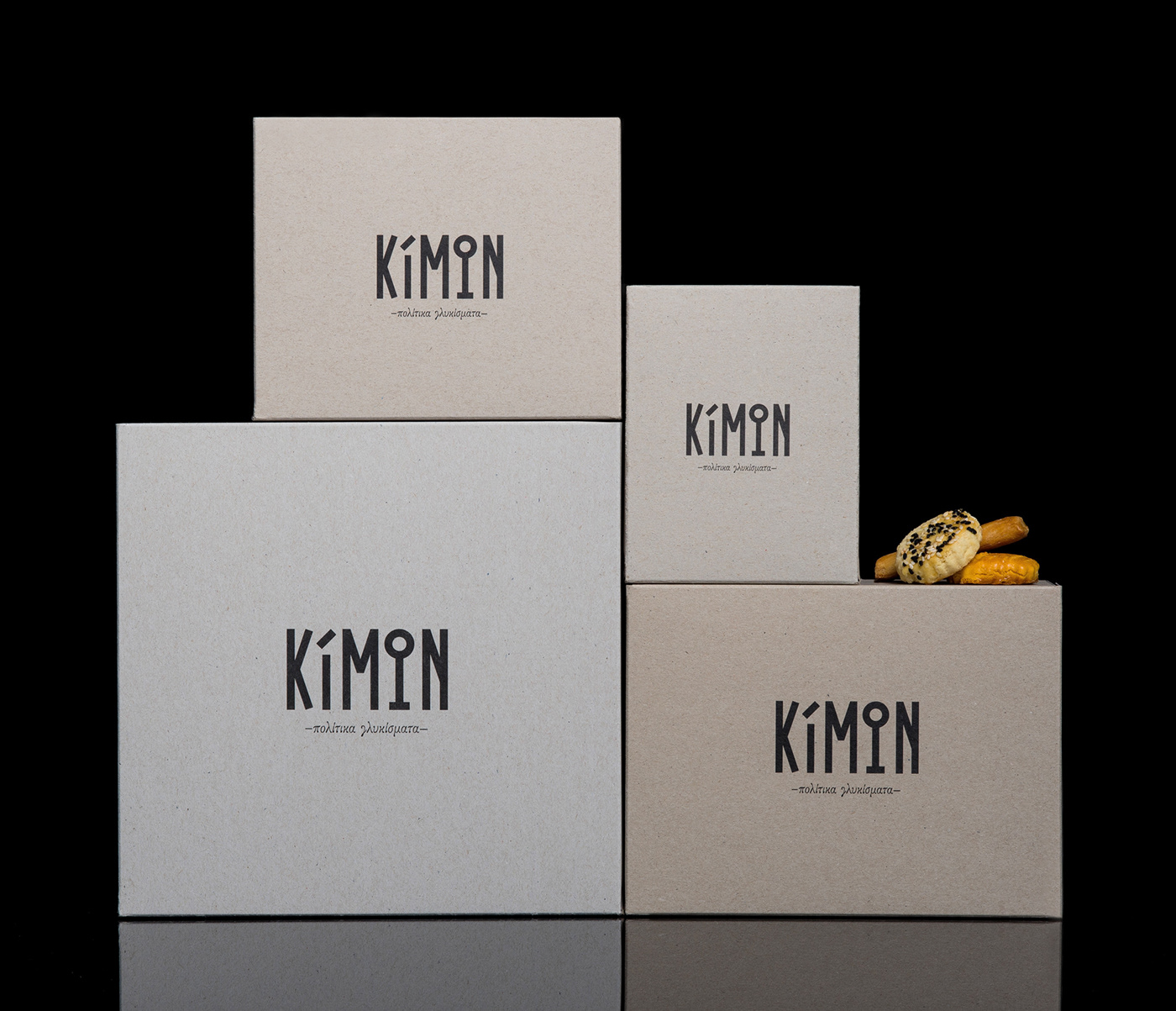 awarded agency box packaging Coffee CONFECTIONARY custom typeface design studio Food Packaging minimal packaging packaging agency Sweets