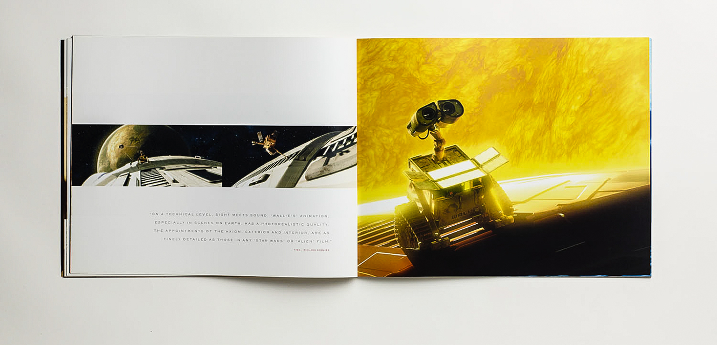 DISNEY PIXAR ACADEMY CAMPAIGN | WALL• E BOOK on Behance