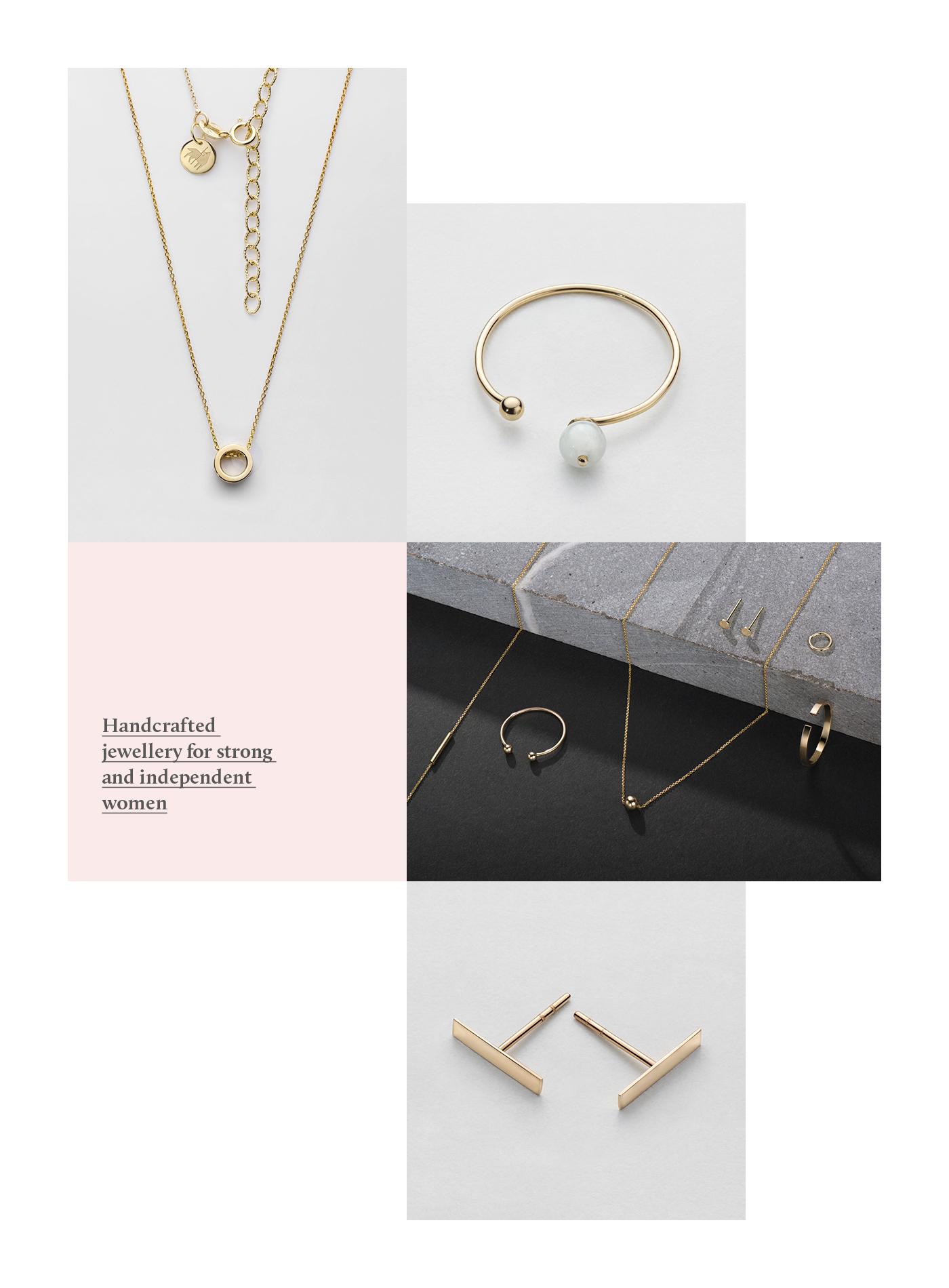 jewelry Jewellery Minimalism handcraft gold ebru pattern branding  logodesign wolf