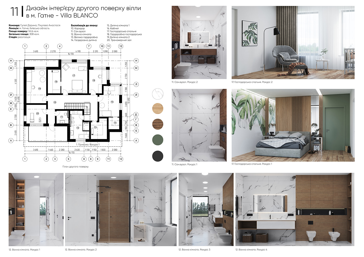 3dmax ArchiCAD architect architecture designer interiordesign Interiro photoshop revit Villa