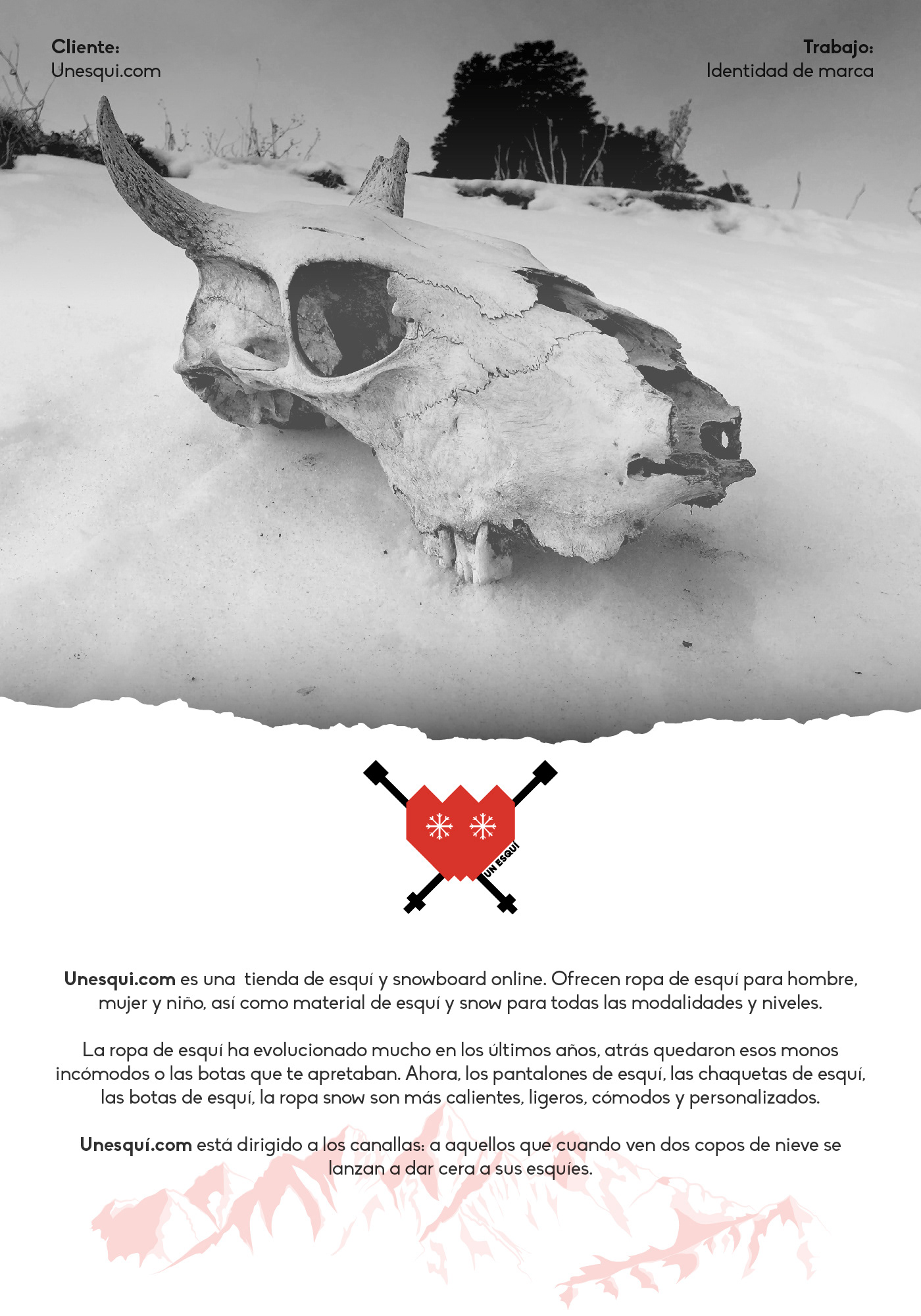 esqui snow snowboard logo animation animacion branding  Identidad Corporativa Logotipo nieve imagen de marca