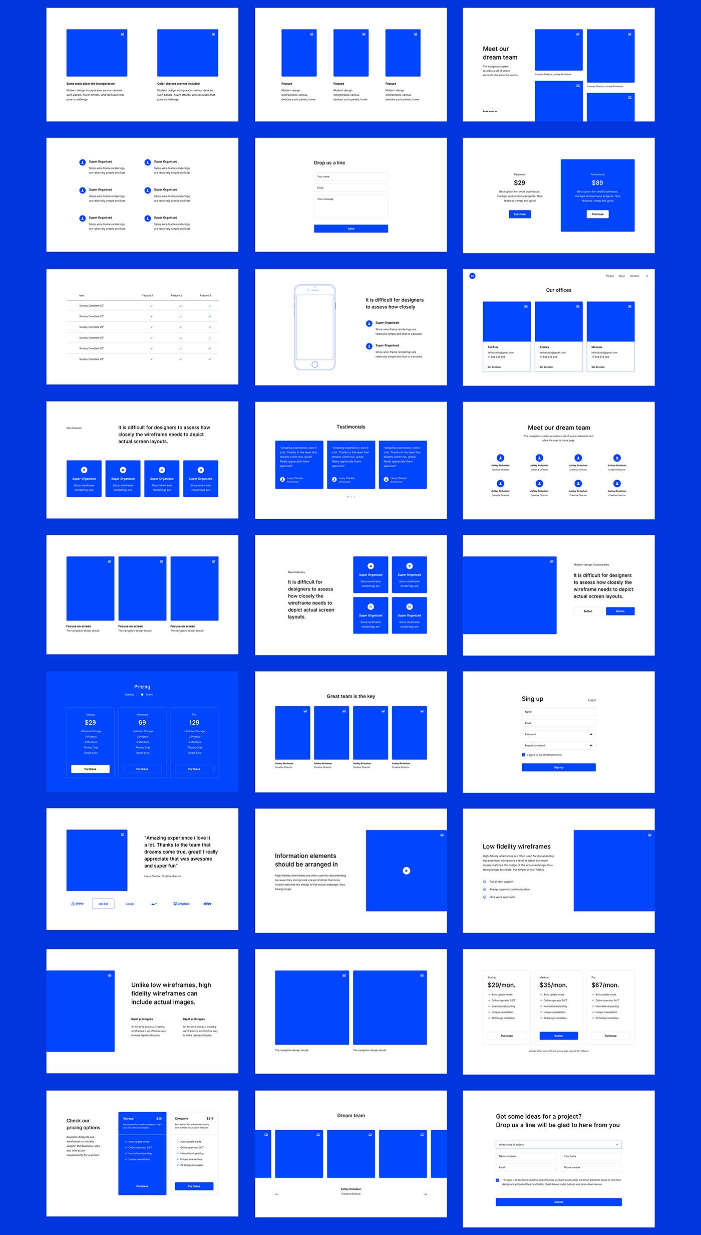 ui kit wireframe Prototyping UI/UX Web Design  layouts dot ux tool
