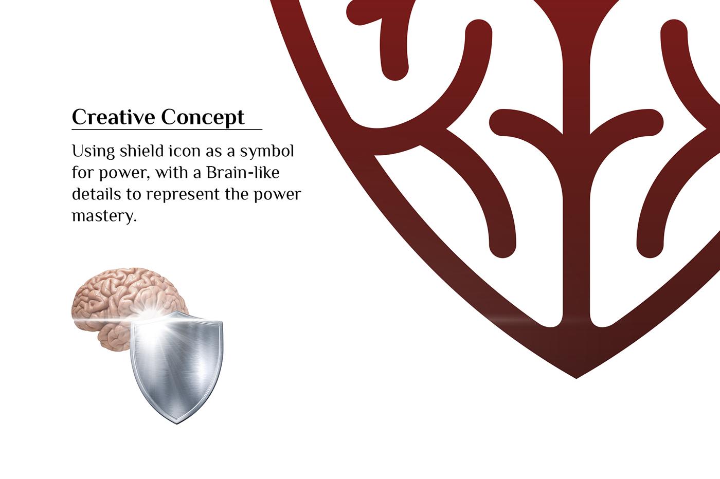 Master Your Power Logo Design On Behance