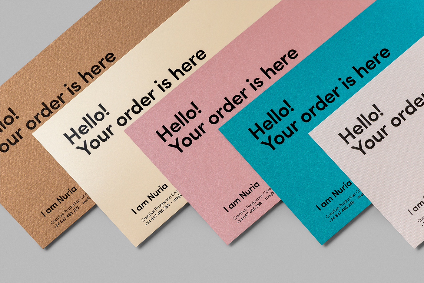 I Am Nuria Branding Pantotarjetera On Behance
