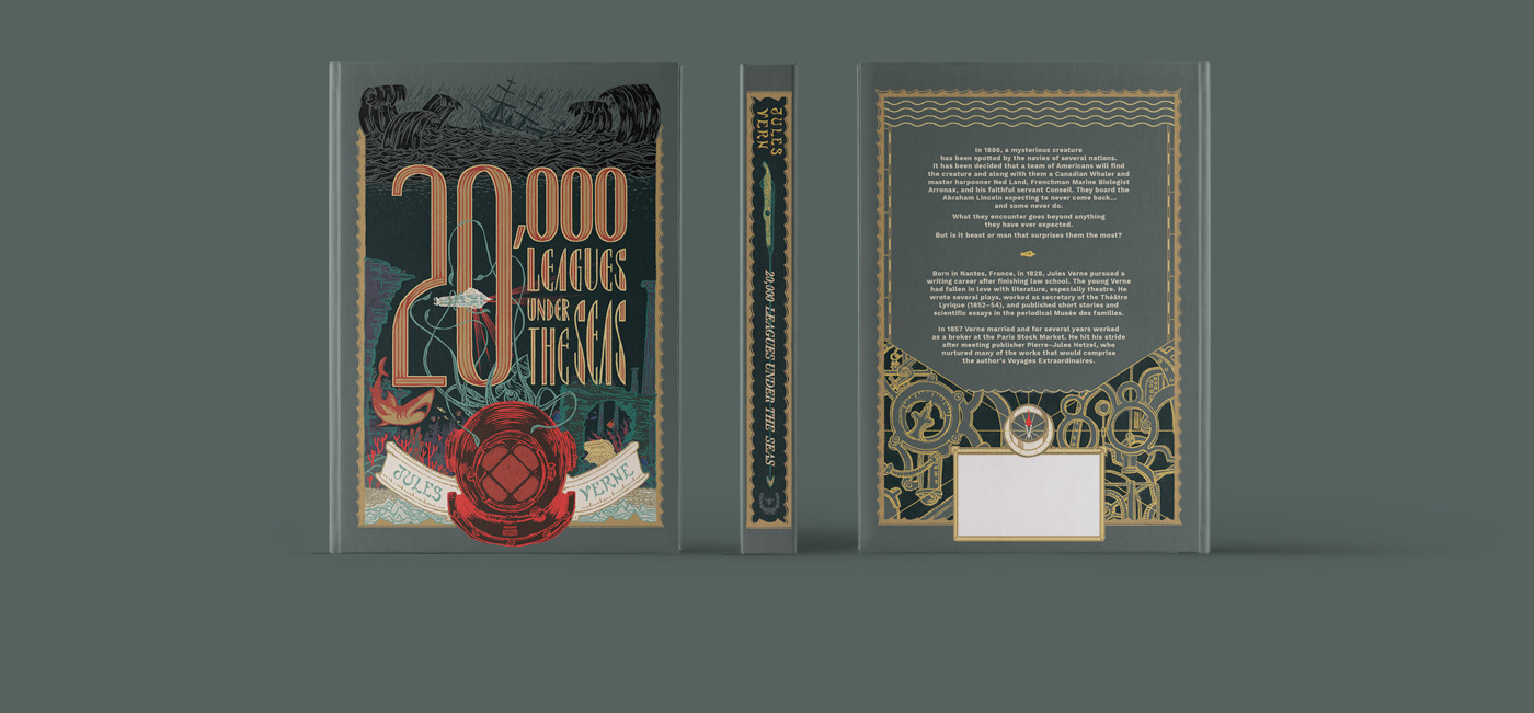 book cover classic book Classical Book 20000 leagues under The Sea jules verne Great Expectations charles dickens