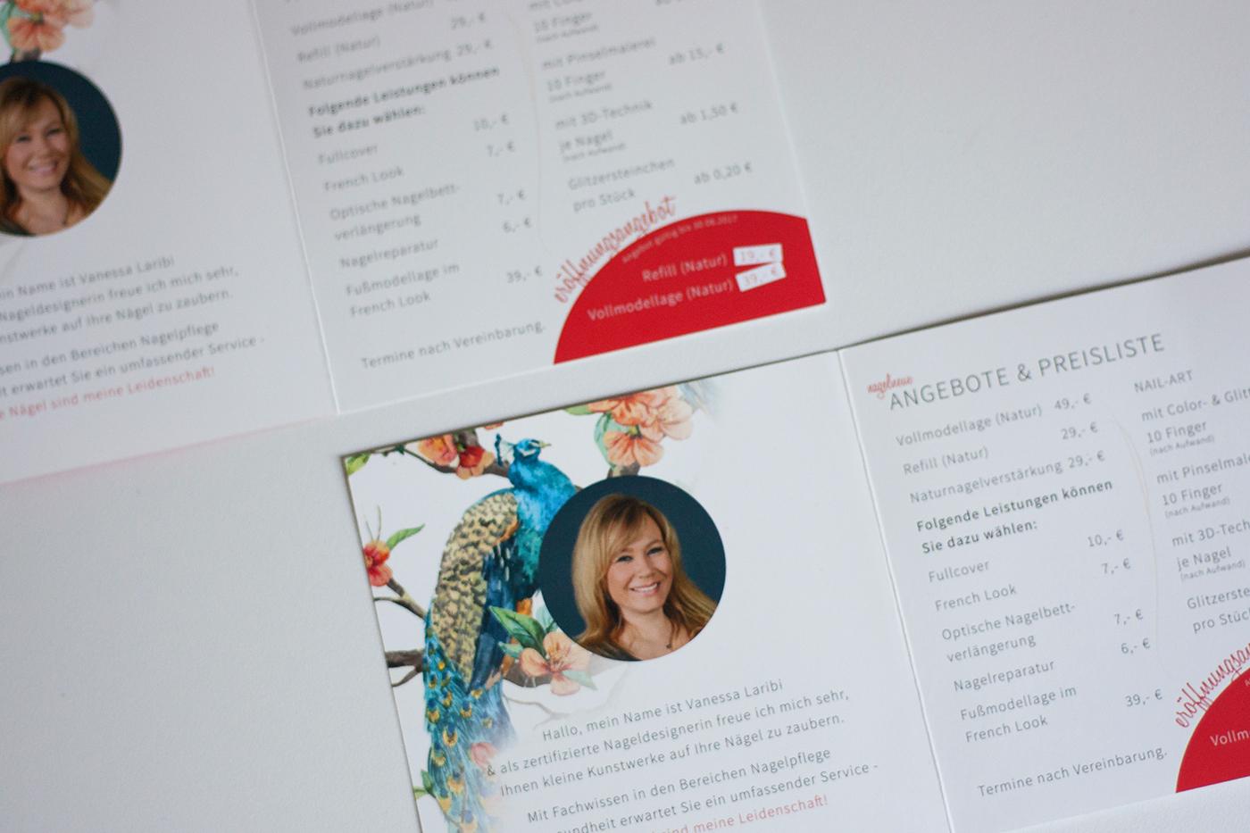 logo logodesign flyer Visitenkarten Corporate Design nail Nagelstudio artwork