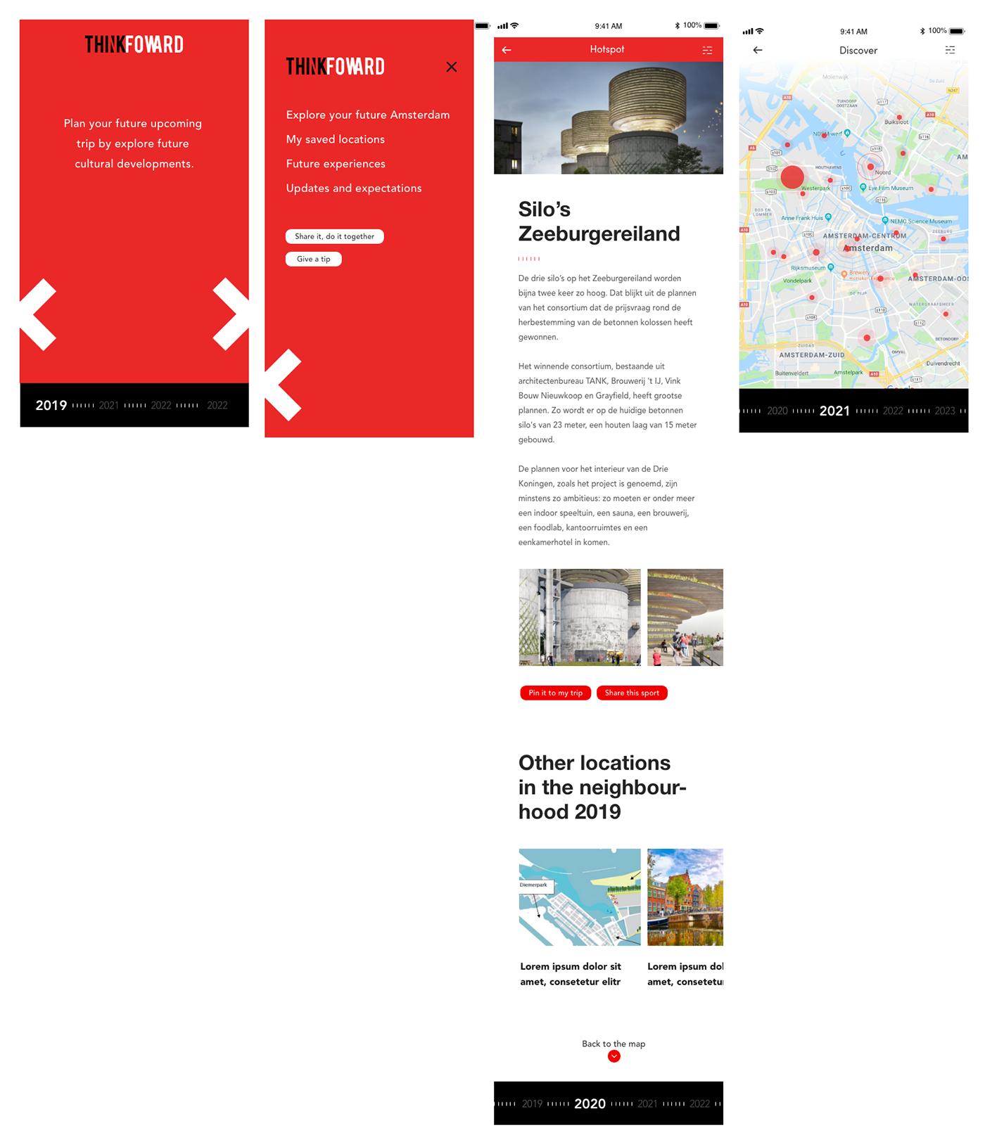 creative jam amsterdam Adobe XD adobe suite adobe UI/UX graphic design  mobile app design
