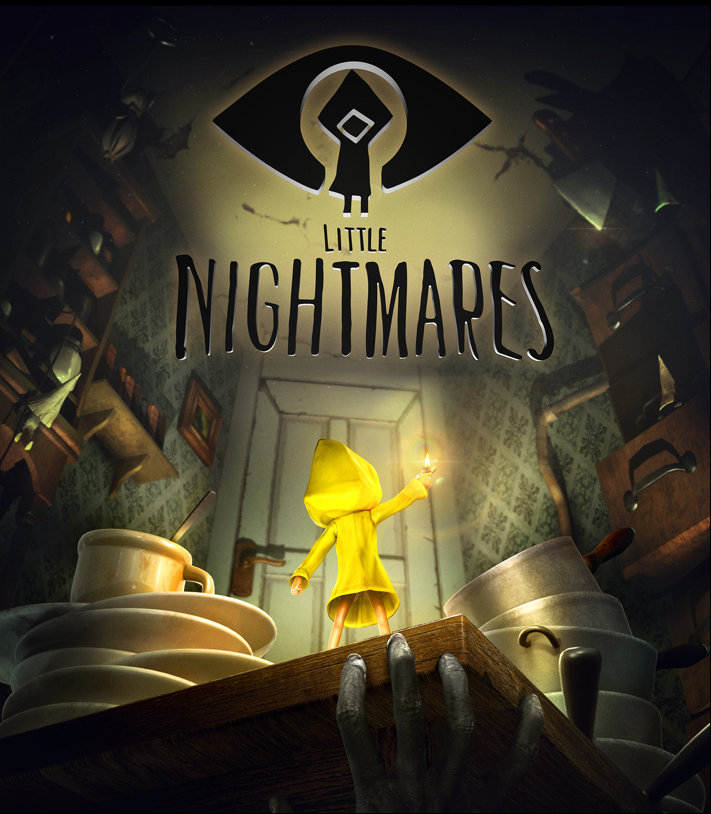 Little Nightmares horror cute video game hunger Indie game six Shadows lighter creepy