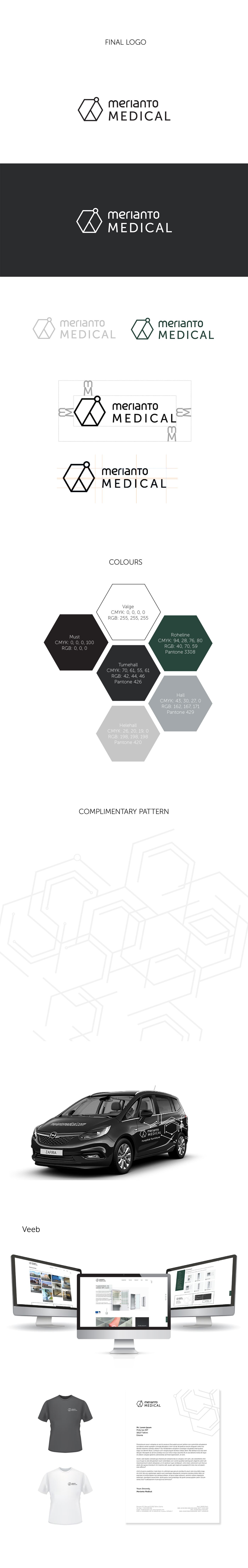 medicine brand identity Logo Design Clean Design logo merianto medical furniture minimal
