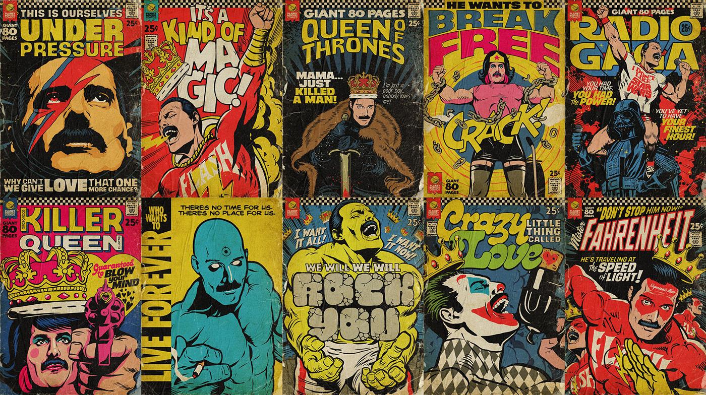 Planet Mercury Comics | The Series