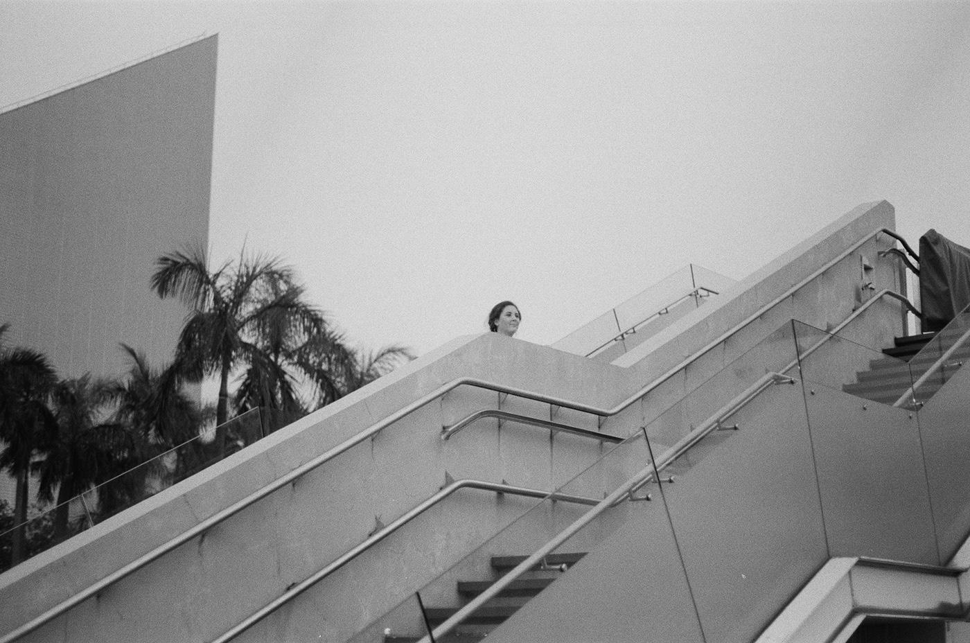 black and white city scape harbor Hong Kong Landscape portrait photography street photography