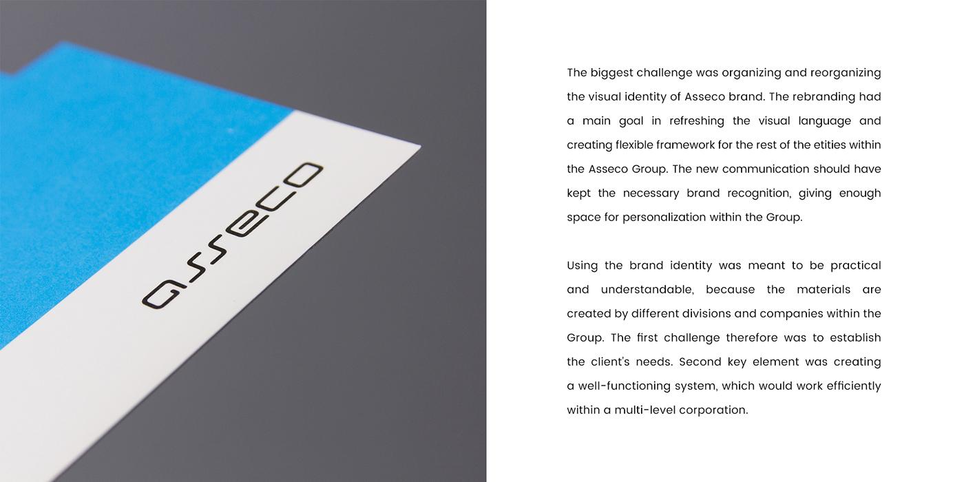 rebranding Corporate Identity brand identity Communication Design asseco brand corporate branding corporate webdesign