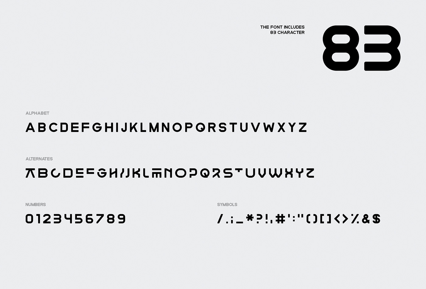 font animated animated font Glitch modern motion display font type japanese