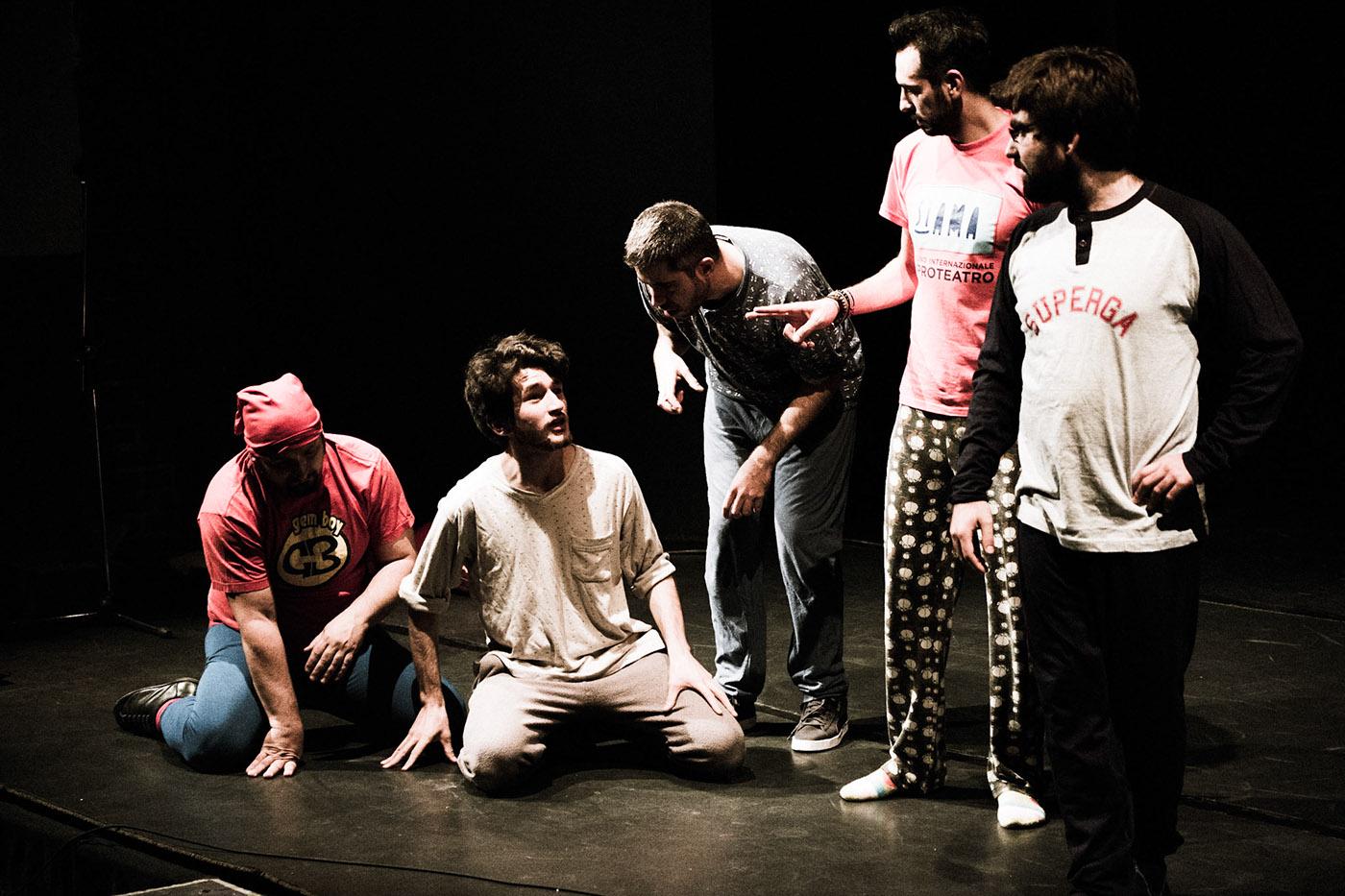 portrait Theatre improv Show
