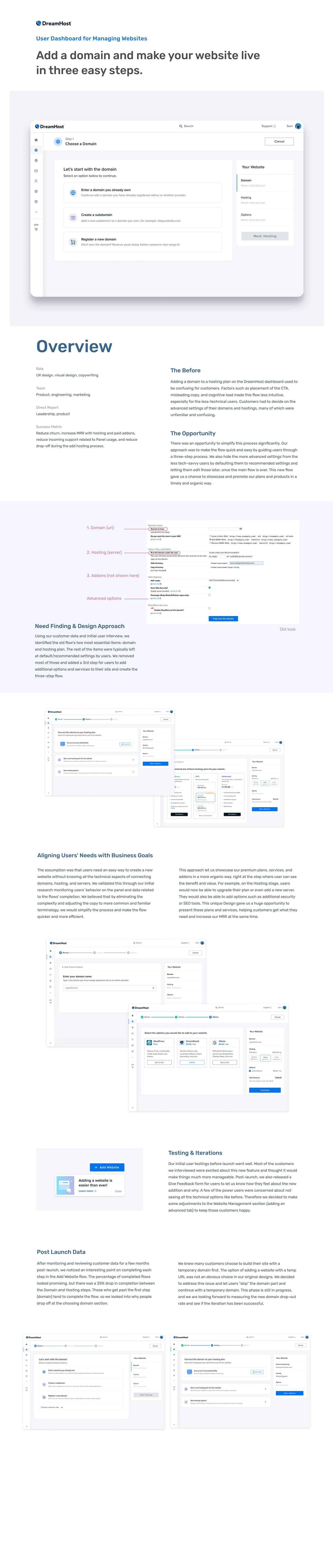 dashboard product design  User Panel UX design