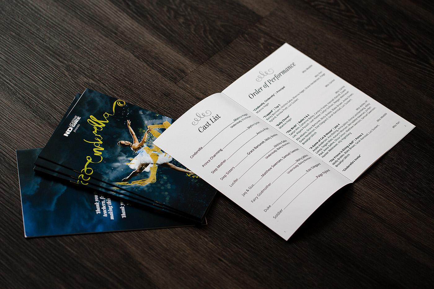 DANCE   recital Photography  design Magic   ribbon lettering nupolitan styling