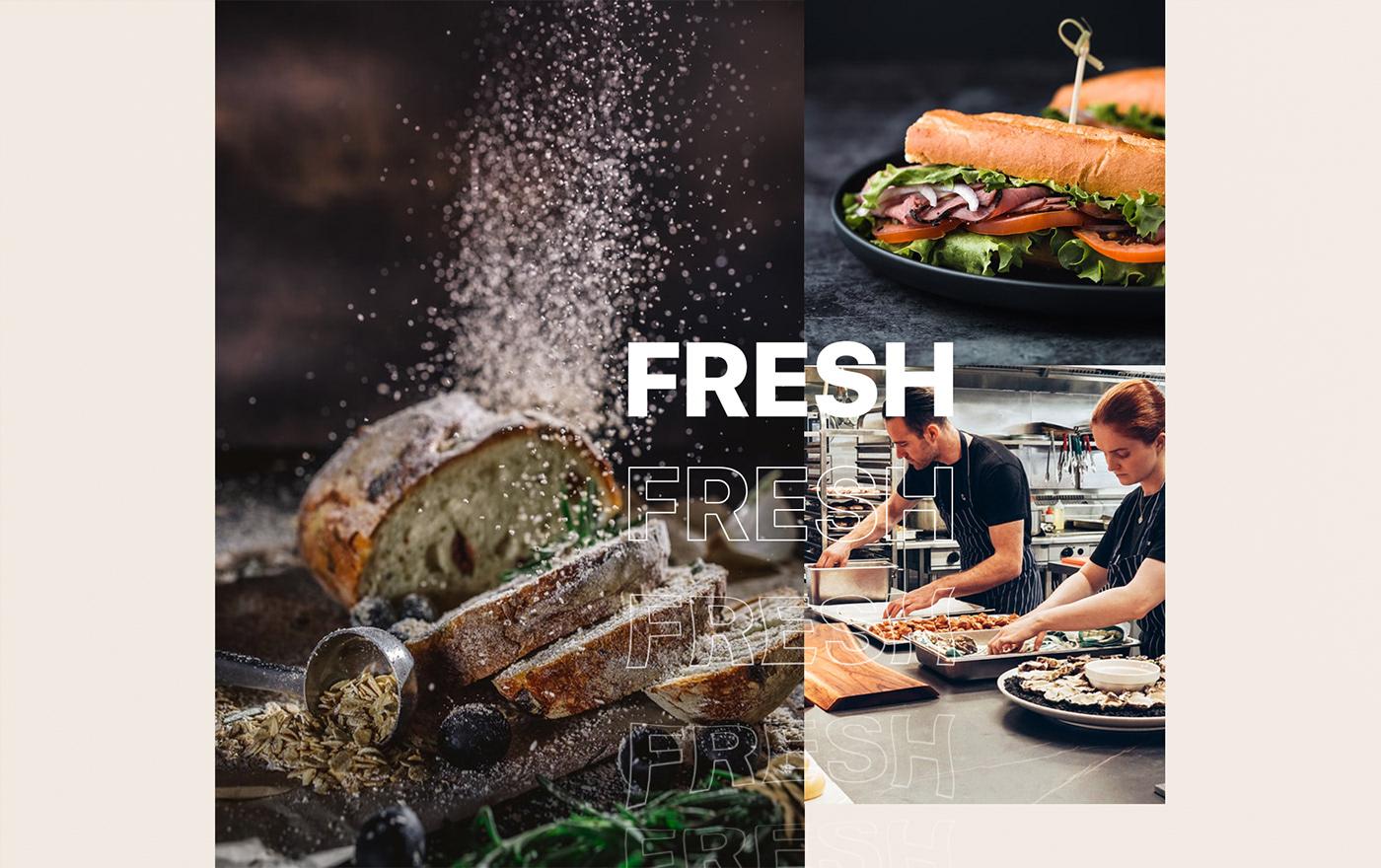 brand identity branding  Branding Restaurant Food  healthy identity restaurant Italian food logo restaurant menu restaurant