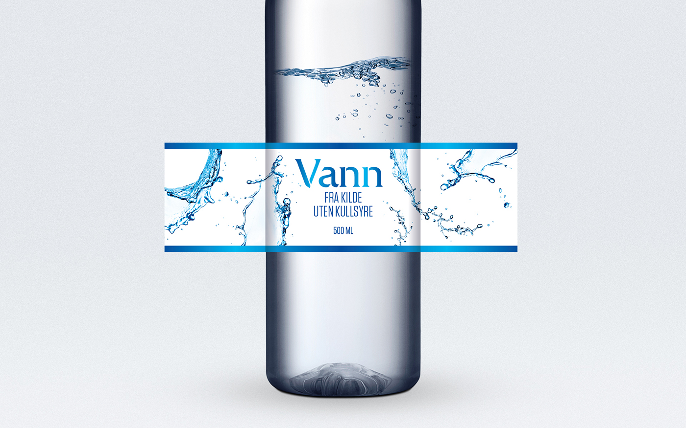 norway europris water bottle fjeldheimpartners concept logo identity