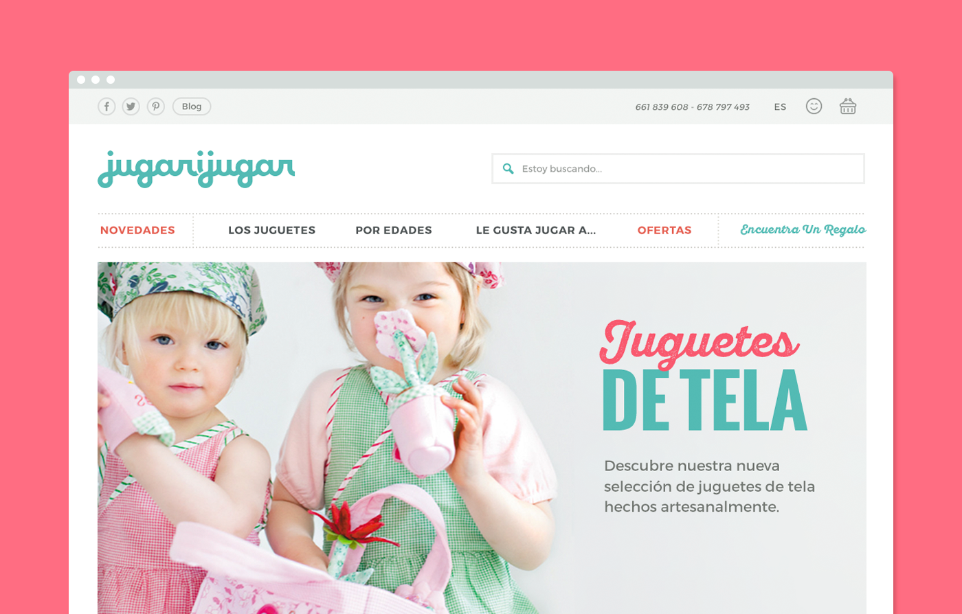 toys Web shop Ecommerce