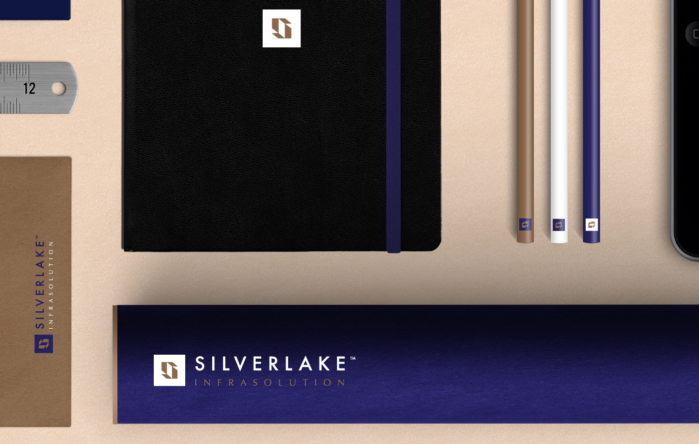 logo silverlake brand building construction architecture