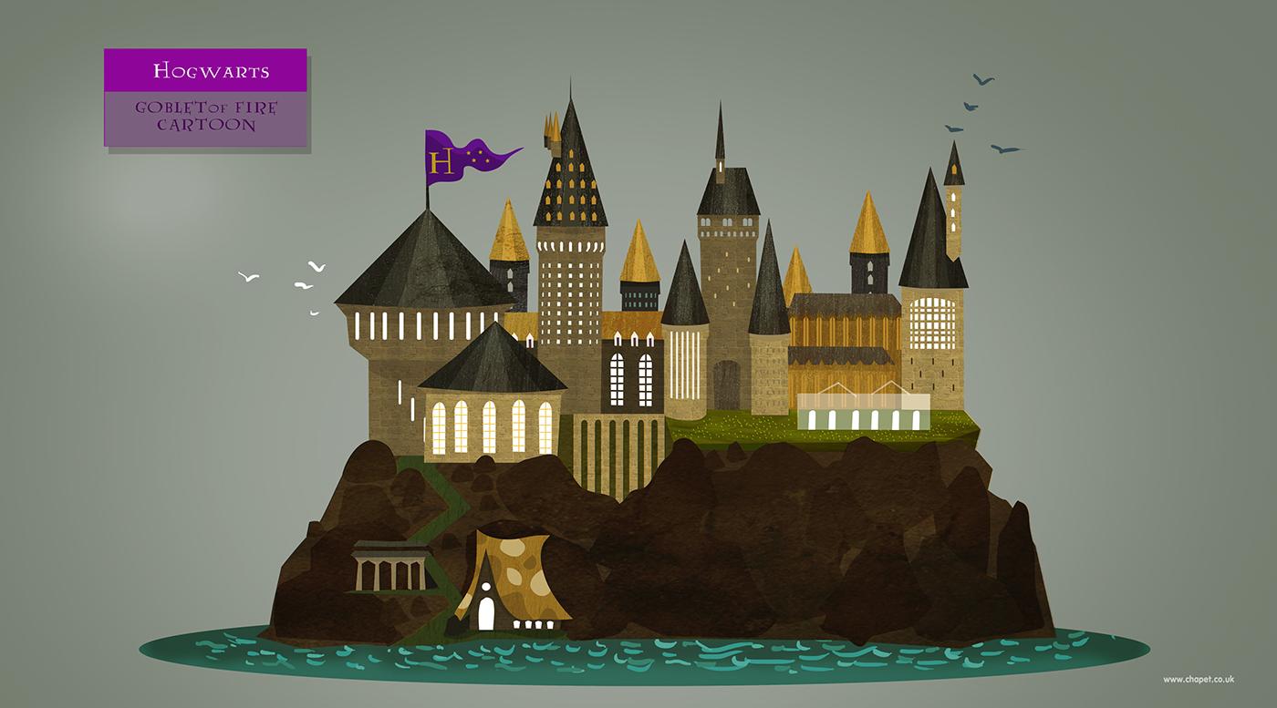Harry potter cartoon - 3 4