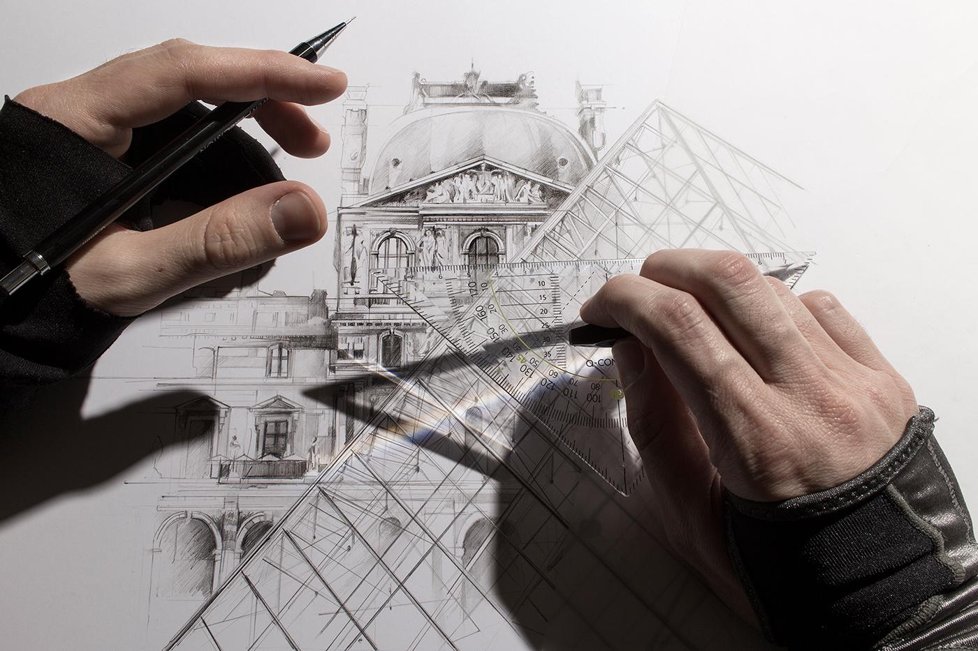 Февраля открытки, картинки для архитектора