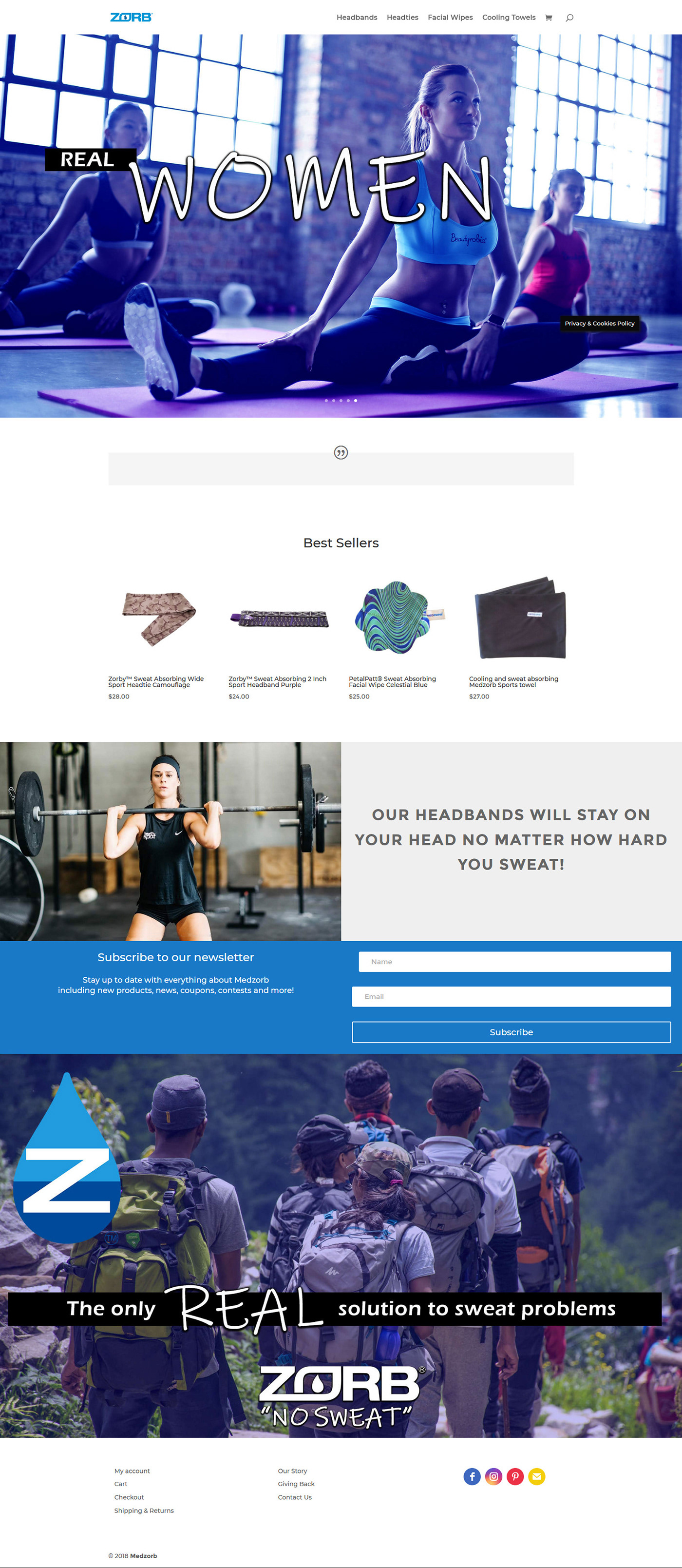 e-Commerce website facial wipes template landing page wordpress template Yoga Template Fitness Template Towel Template Web Design  template design
