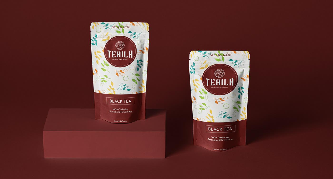 brand conceptbranding green herbal Illustrator package patterndesign photoshop tea teapackaging