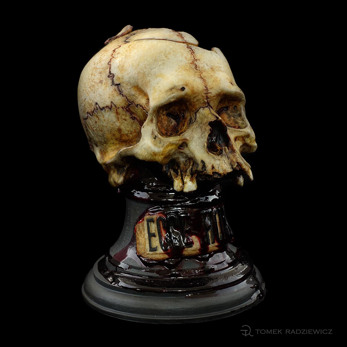 Character design  skull zombie