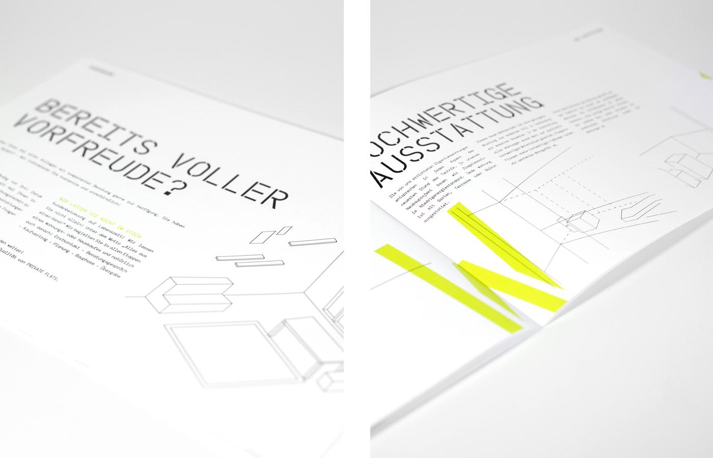 architecture,minimal,Coporate Design,businesscard,Whitespace,White,Black&white,neon,branding ,folder
