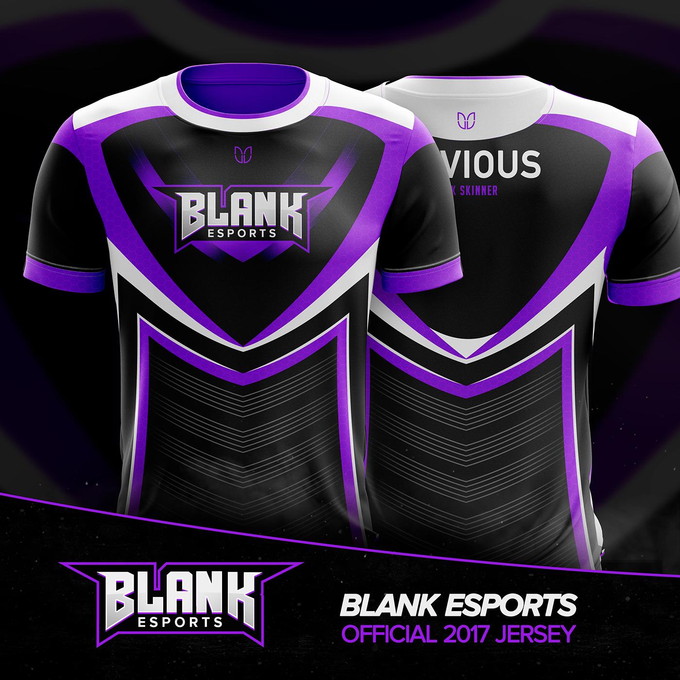 Blank Esports Jersey Design On Behance