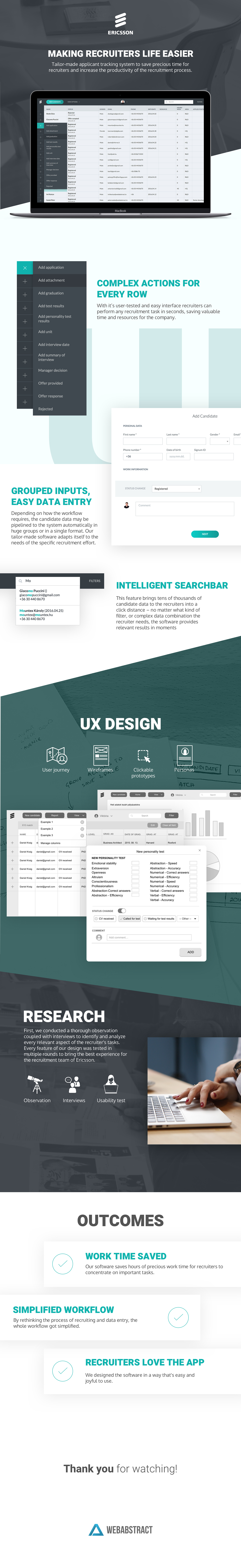 user experience UI ux HR Recruiting Usability