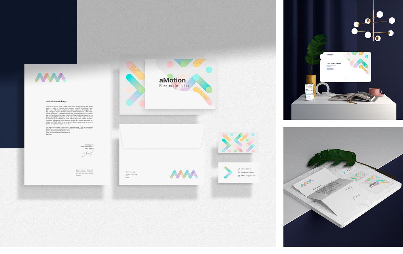 animation  Art Director branding  design free graphic design  identity Mockup motion design
