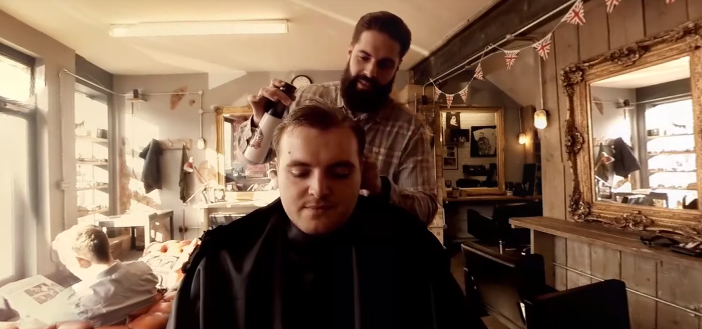the lions barber collective vr 360° experience on behance