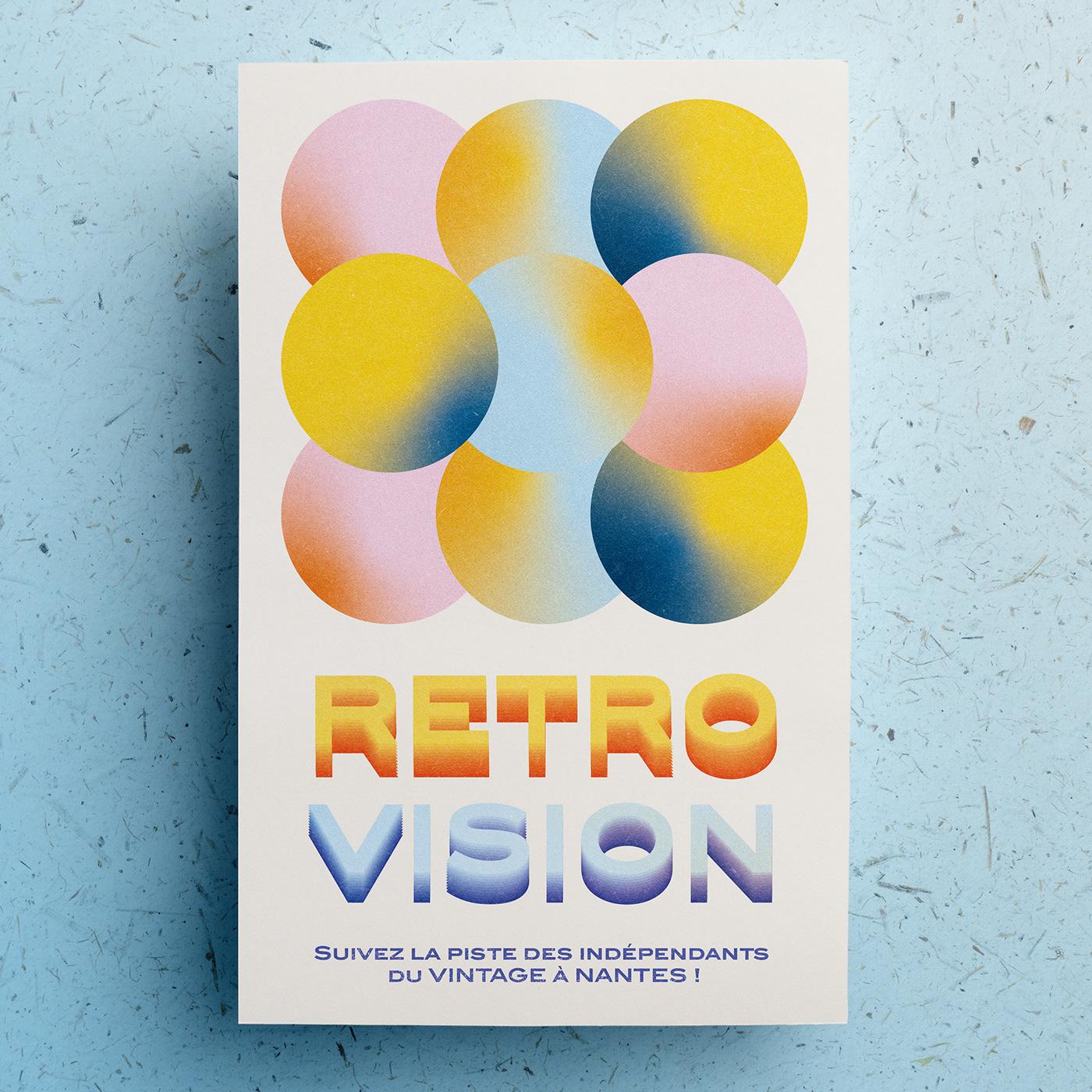 Retro Vision On Behance