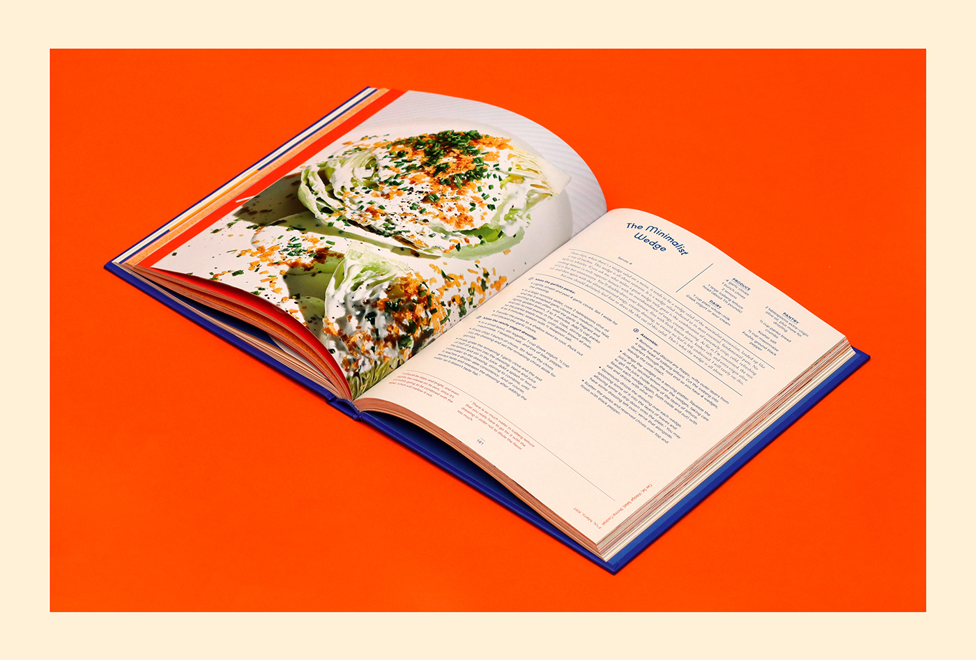 Clarkson Potter cook cooking book font kobe molly baz penguin Violaine et Jeremy vj type voyage