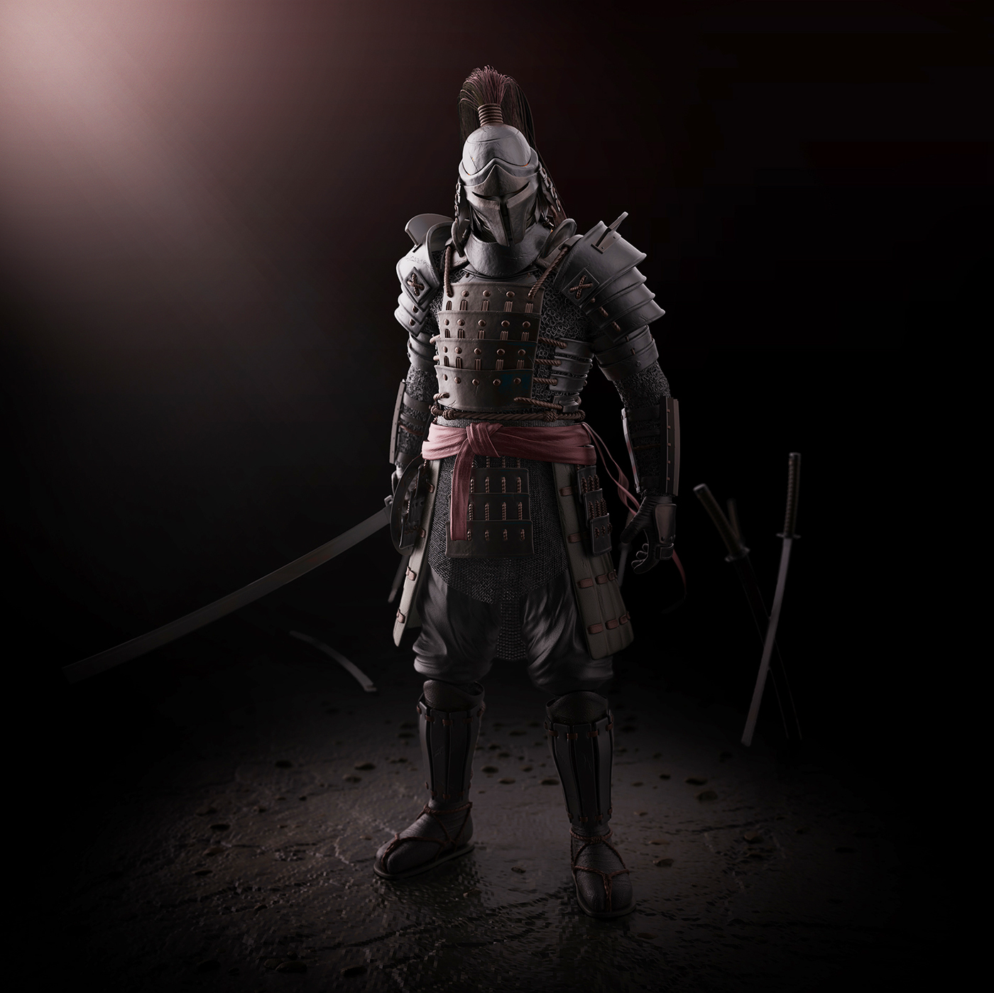 Samurai Concept On Behance