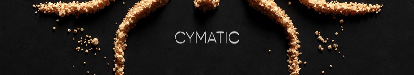 3D animation  animations CGI chladni cymatic design experimental motion