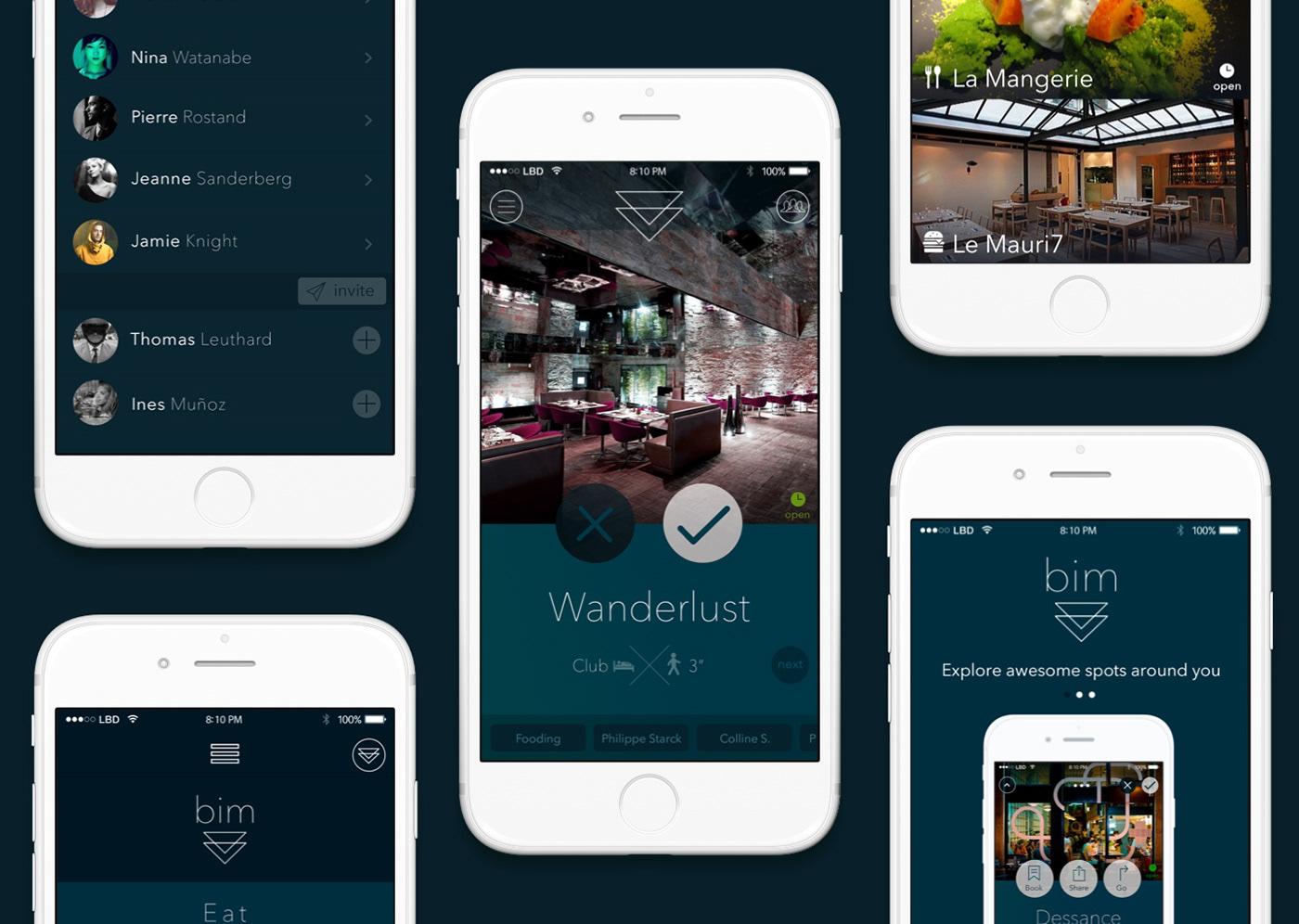 LITTLE BIG DESIGN - UX & UI Design for a mobile app