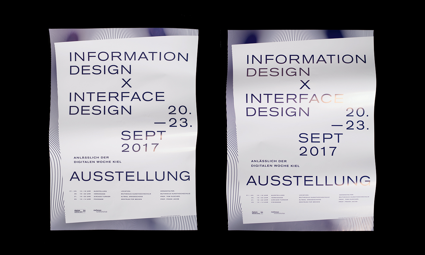 graphic design  poster banner typography   visual art art direction  Poster Design moire