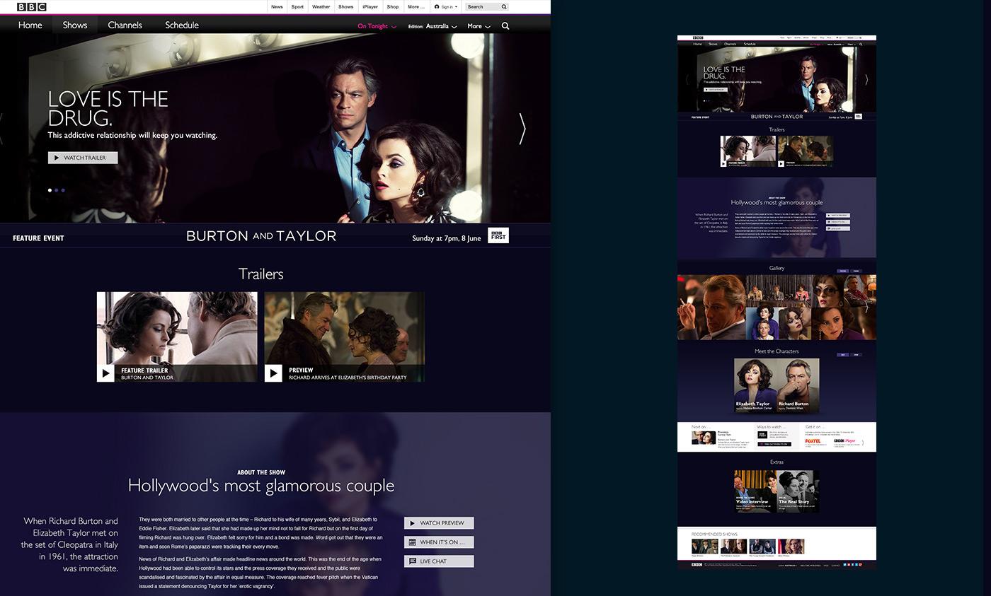 Entertainment Global website BBC BBC Worldwide tv shows films drama