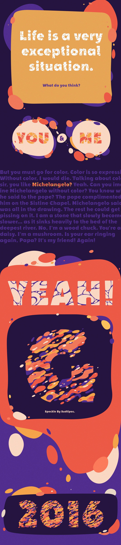 font color Liquid type colorful text festival color font music typography